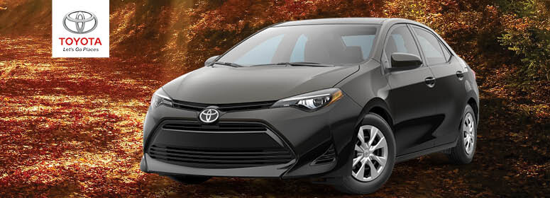 2019 Toyota Corolla Lease Deal near Boston, MA