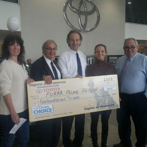 FURRR Charity Winner