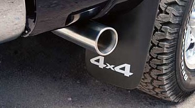 Tacoma exhaust tips