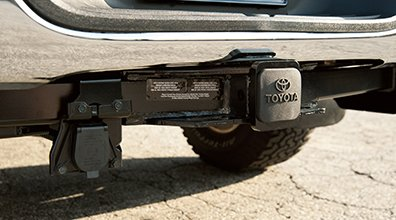 Tacoma tow hitch receiver