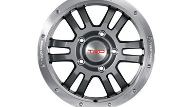 4Runner TRD 17-In. Forged Off-Road Beadlock Style Alloy Wheels