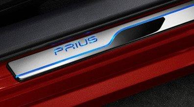 Prius Illuminated Door Sills Protectors