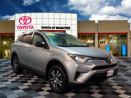 Used 2018 Toyota RAV4 LE [VIN: 2T3BFREV6JW728614] for sale in Braintree, Massachusetts