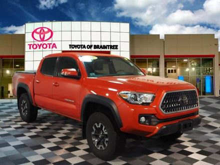 Used 2018 Toyota Tacoma TRD Offroad [VIN: 5TFCZ5AN7JX158239] for sale in Braintree, Massachusetts