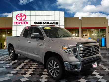 Used 2018 Toyota Tundra Limited [VIN: 5TFBY5F15JX718540] for sale in Braintree, Massachusetts