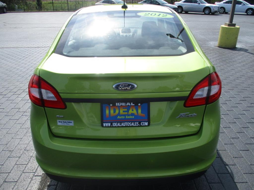 Used 2012 Ford Fiesta
