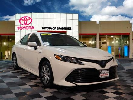 Used 2018 Toyota Camry LE [VIN: 4T1B31HK3JU504107] for sale in Braintree, Massachusetts